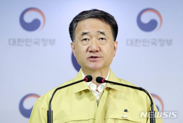 박능후 중앙재난안전대책본부 1차장 /사진=뉴스1