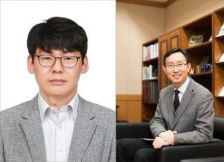 (왼쪽부터)이승재, 김경태 교수/사진=한국연구재단