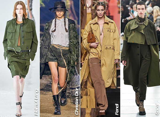 Helmut Lang, Christian Dior, Fendi 2020 S/S 컬렉션, Sacai 2020 남성복 컬렉션/사진=각 브랜드