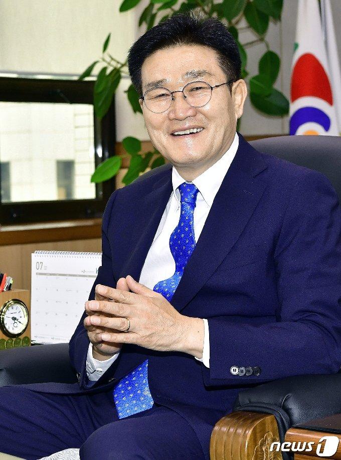 김일권 경남 양산시장. © 뉴스1