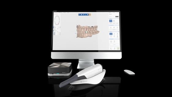 3D 구강 스캐너(DDS Comfort+)와 소프트웨어