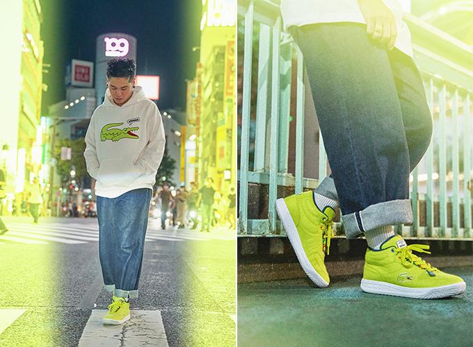 라코스테 x 아트모스 스트리트 테니스 컬렉션 운동화 '발사'(Balsa)/사진제공=라코스테(LACOSTE)