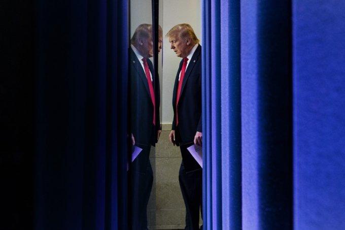 도널드 트럼프 미국 대통령. /AFPBBNews=뉴스1