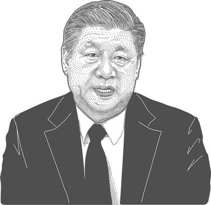 시진핑 중국 국가주적 캐리커쳐 / 사진=임종철 디자인기자