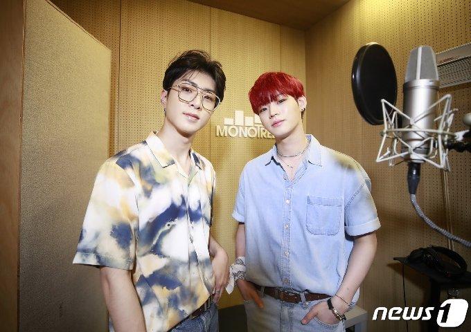 온앤오프 와이엇, 효진(오른쪽) © News1 권현진 기자