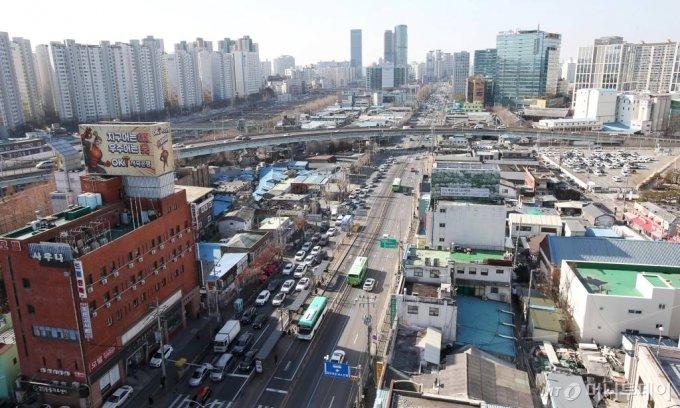 서울 영등포 일대/사진= 강민석 기자