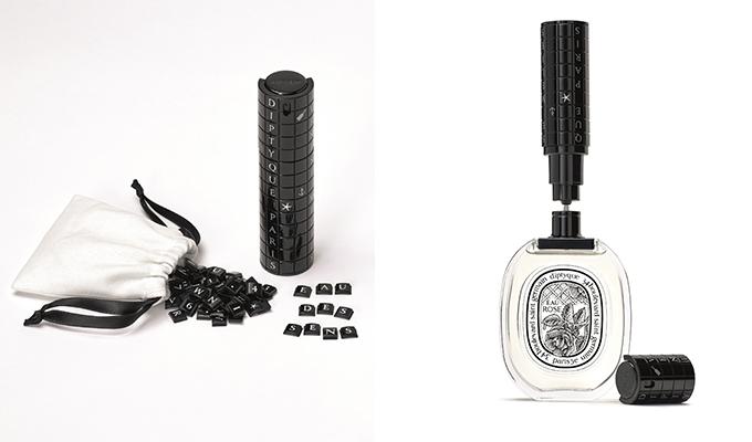 딥티크 트래플 퍼퓸 오드 뚜왈렛의 72가지 문구 조각과 리필용 장치/사진제공=딥티크