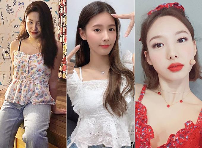 그룹 레드벨벳 예리, 여자아이들 미연, 트와이스 나연/사진=각 스타 인스타그램