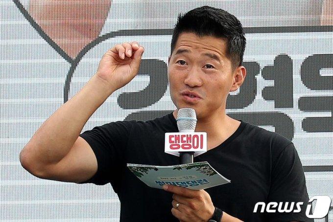 (강릉=뉴스1) 동물훈련사 강형욱. 2019.8.17/뉴스1