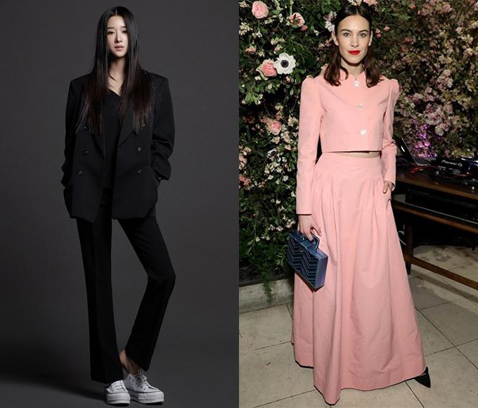 (왼쪽)배우 서예지(오른쪽)'넥스트 인 패션' MC로 활약한 모델 알렉사 청 /사진=골드메달리스트, AFPNews=뉴스1
