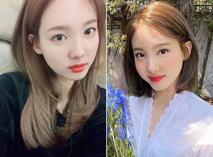 그룹 트와이스 나연/사진=트와이스 공식 인스타그램, 트위터