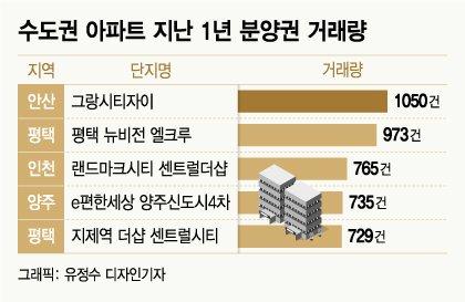 '양도세율 80%' 서울 이어 수도권 분양권 시장도 문 닫나
