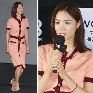 이연희, 결혼 후 첫 공식석상…머리부터 발끝까지 '청순'