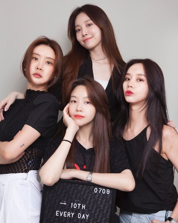 걸스데이/민아 SNS © 뉴스1