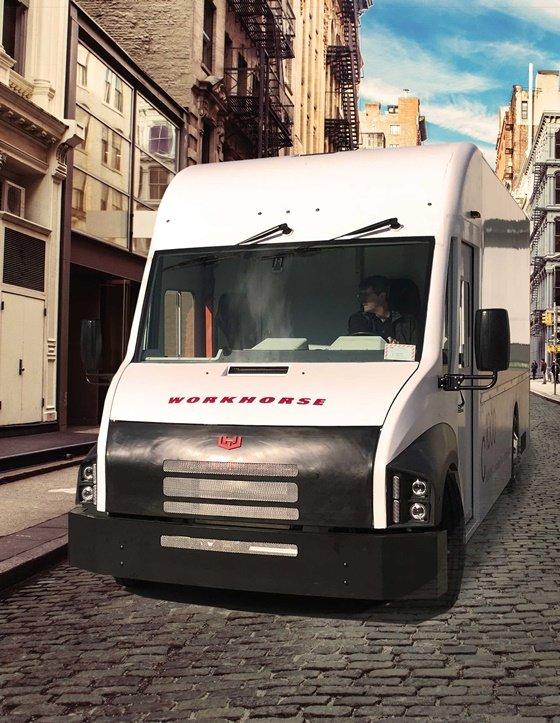 워크호스의 전기차 트럭 'C1000' 모델/사진=워크호스 홈페이지