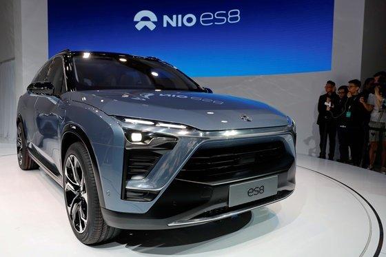 니오의 전기 SUV 'ES8' 모델/사진=로이터