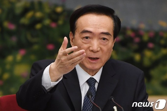 천취안궈(陳全國) 신장자치구 당서기. © AFP=뉴스1