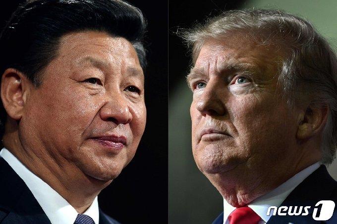 시진핑 중국 국가주석(왼쪽)과 도널드 트럼프 미국 대통령/ 사진=뉴스1
