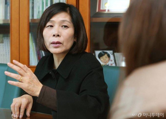 최민희 전 더불어민주당 의원. / 사진=이동훈 기자