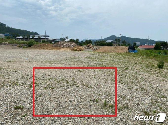 전북 무주군이 자동기상관측장비를 옮길 부지.(무주군제공)2020.7.13/뉴스1