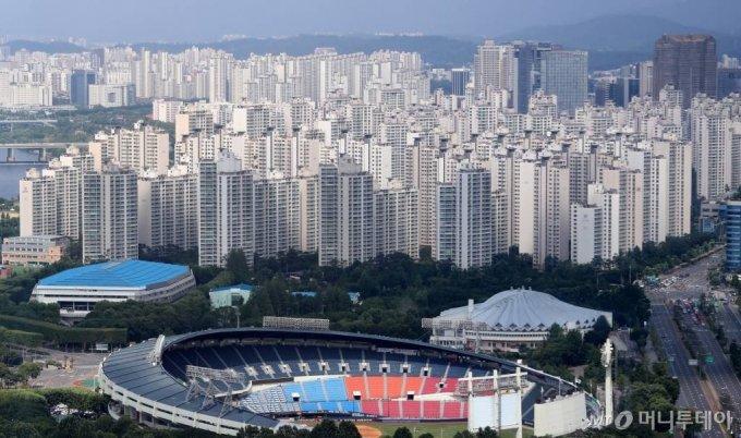 7일 서울 송파구 일대의 아파트 모습. / 사진=이기범 기자 leekb@