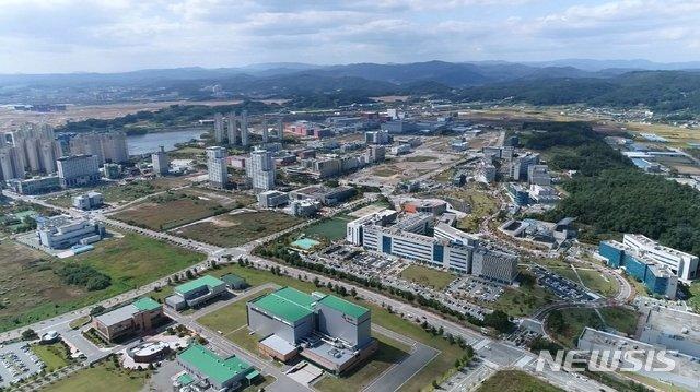 2019년 12월 충북 경제자유구역 항공사진. / 사진제공=뉴시스