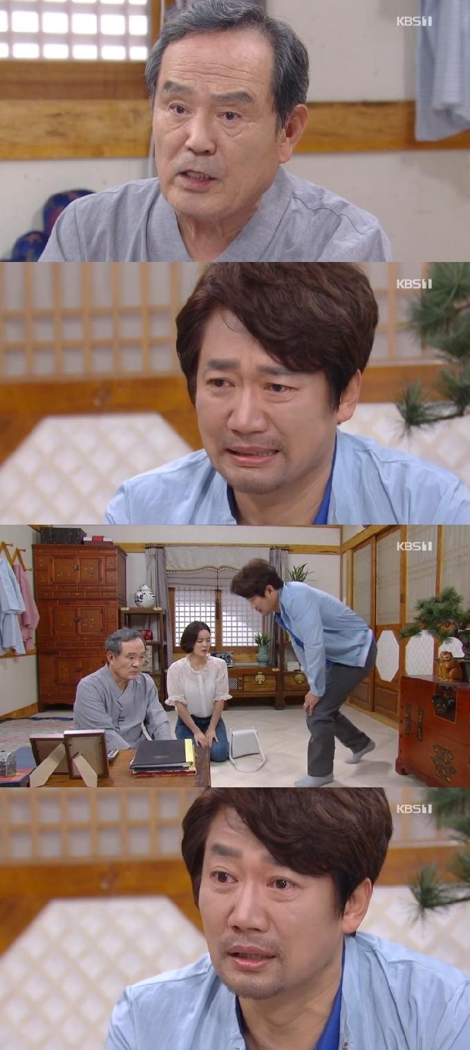 '기막힌 유산' 박인환, 子 강신조