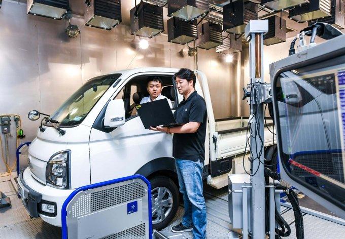 현대·기아차, 세계 최초 '상용전기차 성능 자동 최적화' 기술 개발  / 사진제공=현대·기아차