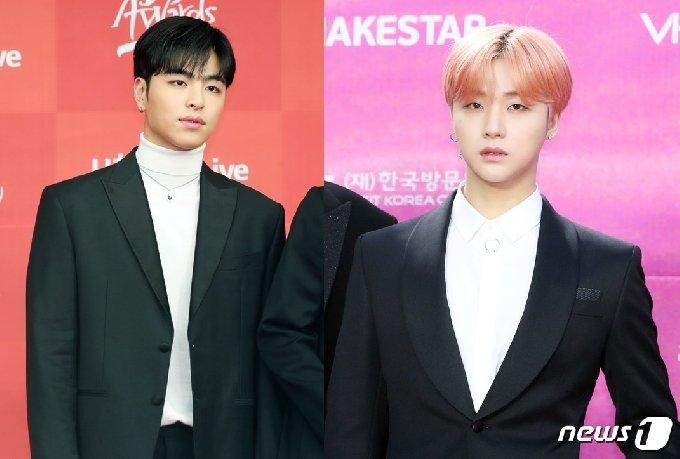 아이콘 구준회(왼쪽), 김진환 © 뉴스1