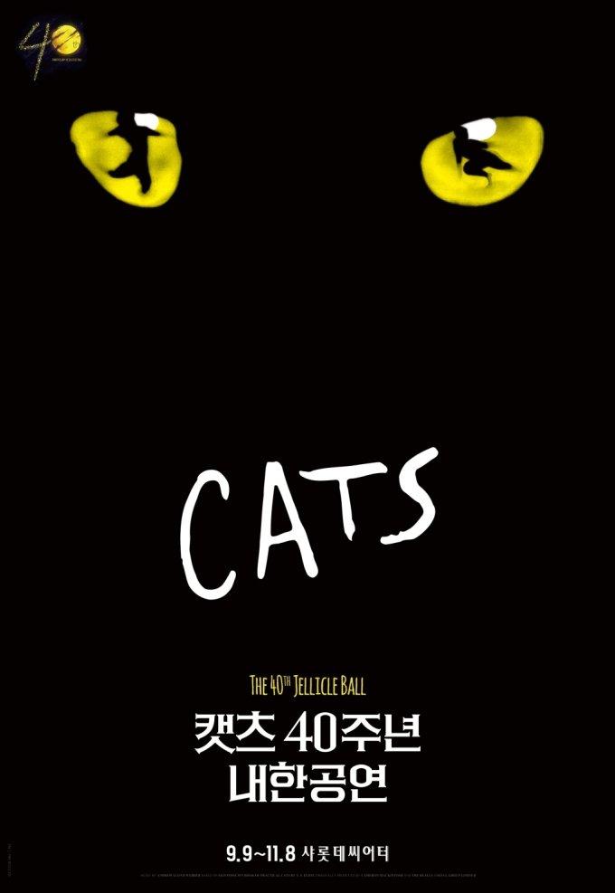 'K방역' 믿고 9월 안착하는 뮤지컬 '캣츠'