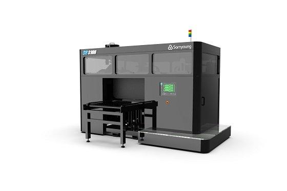 삼영기계의 샌드 3D 프린터'(BR-S900)/사진제공=삼영기계