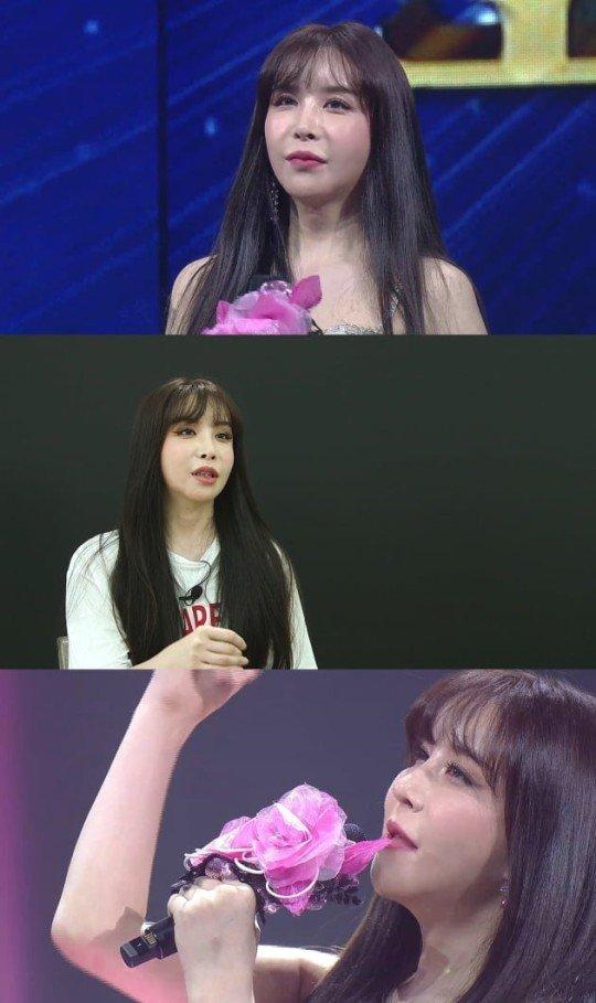 가수 겸 배우 하리수. /사진=MBN '보이스트롯' 화면 캡처