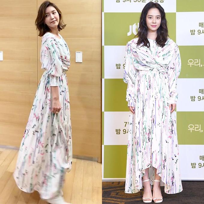 /사진=배우 채정안 인스타그램, JTBC 제공