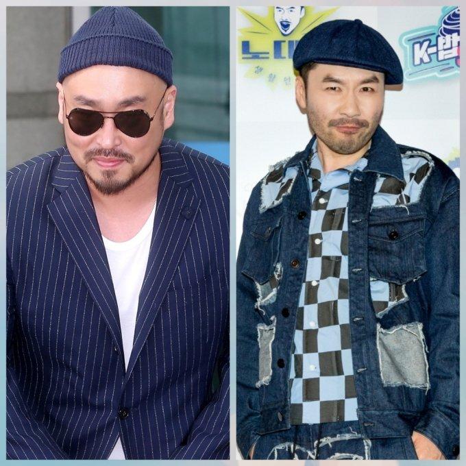 가수 길 (왼쪽)과 방송인 노홍철/사진=머니투데이DB