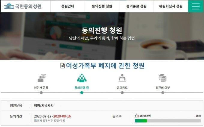 /사진=국회 국민동의청원 게시판 캡처