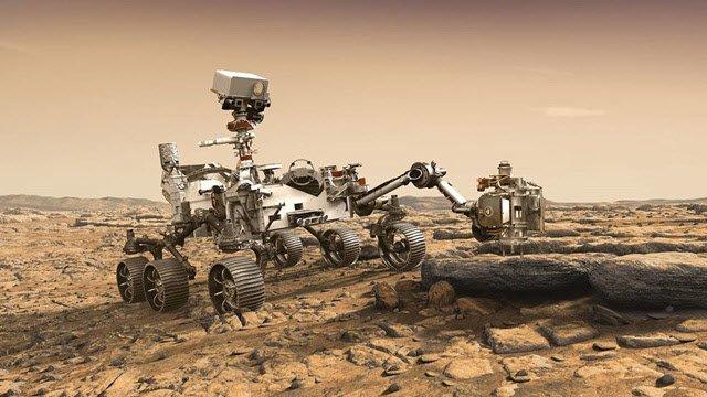 차세대 화성탐사 로버 '퍼시비어런스' 상상도/사진=NASA