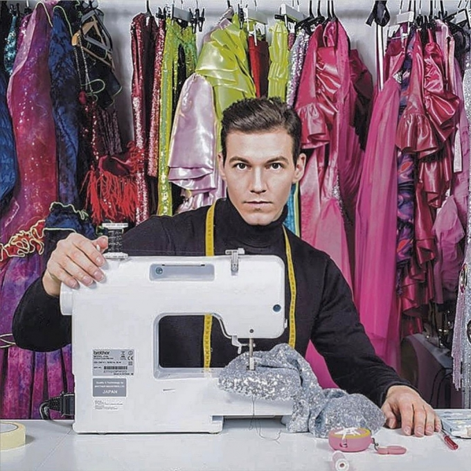 패션 디자이너 케빈 제르마니에/사진=케빈 제르마니에 인스타그램