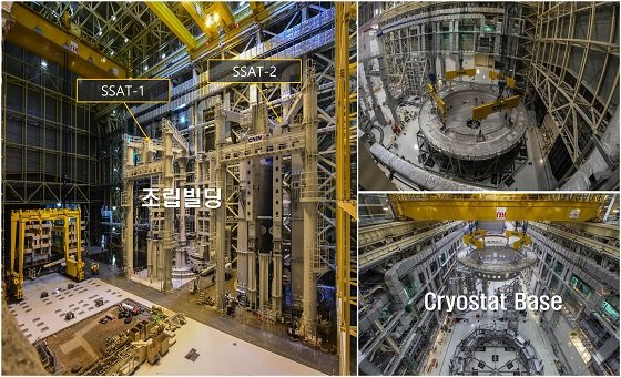 핵융합장치 조립동 내부/사진=ITER국제기구