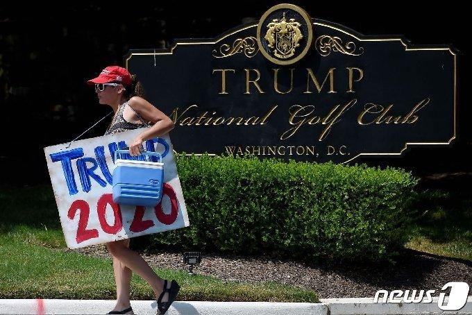 도널드 트럼프 대통령 지지자 © AFP=뉴스1