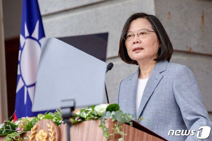 차이잉원 대만 총통 © AFP=뉴스1