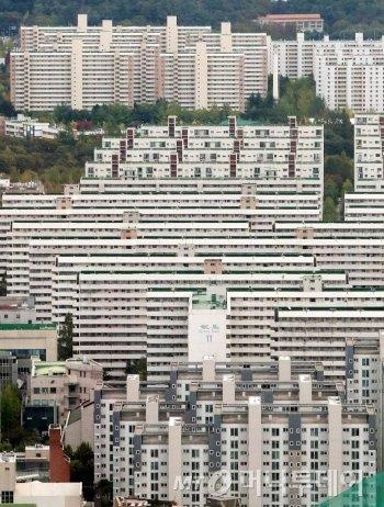 서울 강남구 아파트 밀집지역./사진= 김창현 기자