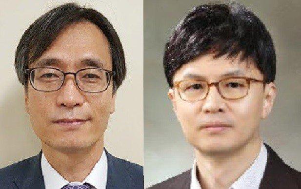 정진웅 부장검사(왼쪽)와 한동훈 검사장