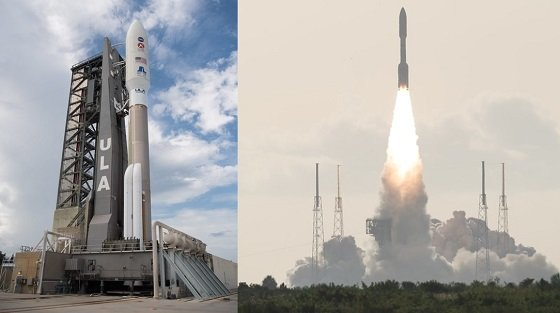 우리나라 시간으로 30일 오후 8시 50분 미국 화성 탐사선 '퍼시비어런스'를 탑재한 아틀라스5 로켓이 플로리다주 케이프 커내버럴 공군기지에서 성공적으로 발사됐다/사진=NASA
