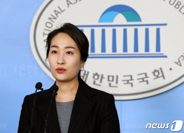 김수민 미래통합당 홍보본부장. /사진=뉴스1.