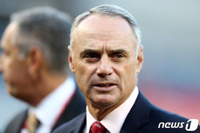 롭 맨프레드 MLB 커미셔너. © AFP=뉴스1