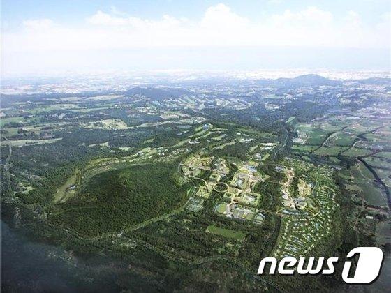 제주오라관광단지 조감도. /뉴스1 © News1