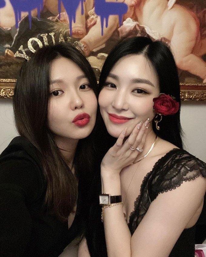 가수 겸 배우 최수영, 가수 티파니영/사진=최수영 인스타그램