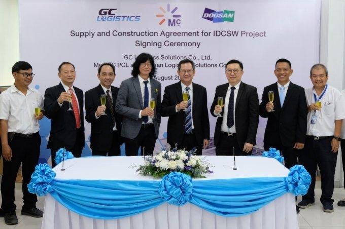 두산로지스틱스솔루션, 태국 물류센터 자동화 설비 공급