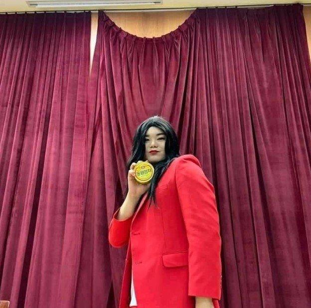 /사진=손나은 '동원참치' /사진제공=페이스북 '의정부 대신 전해드립니다'