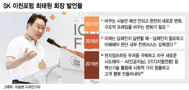 유튜브 먹방·드라마 패러디…최태원 회장의 진짜 속내